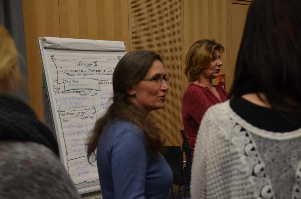 Rückblick Workshop zur Individuellen Einstiegsbegleitung (Stufe 3)